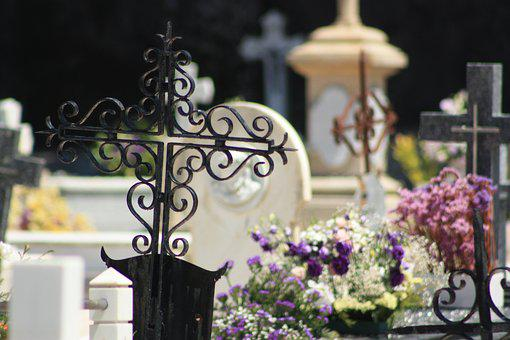 Necropolis, Cemetery, Black Cross, Iron Cross