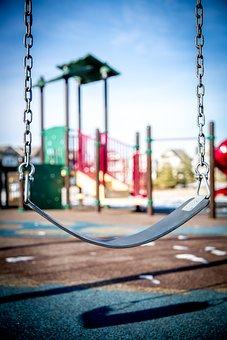 Swing, Playground, Children Playing, Park, Child, Play