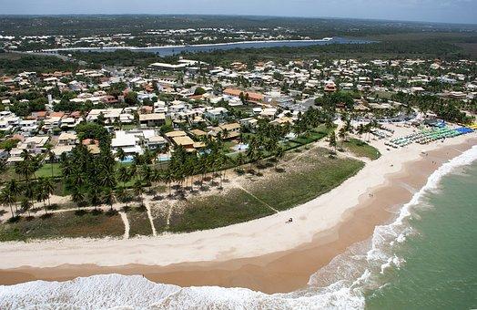 Salvador, Sea, Beach, Sky, Brazilian, City, Tourism