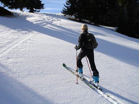 Backcountry Skiiing, Skitouren Predecessor, Rise