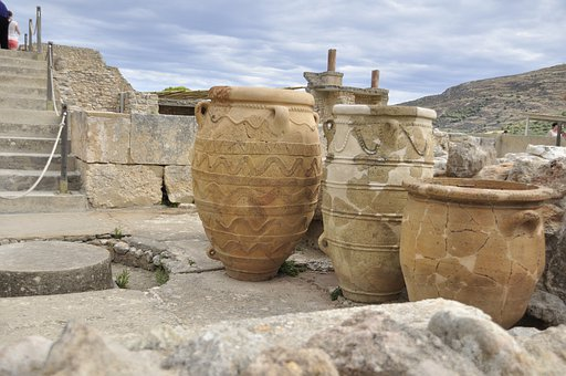 Greece, Crete, Knossos, Holiday, Travel, Archaeology