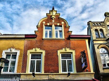 Valkenburg, Netherlands, City, Architecture, Buildings