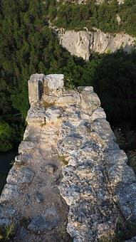 Castle, Burgruine, Ruin, Ruin Of Philippe De Cabassolle