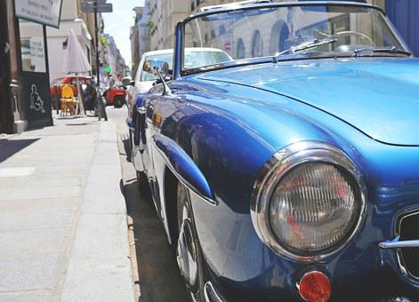 Oldtimer, Mercedes, Auto, Vehicle, Cabriolet, Classic
