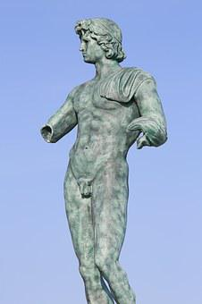 Statue, Adonis, Cape Of Agde, Archaeology, Excavation