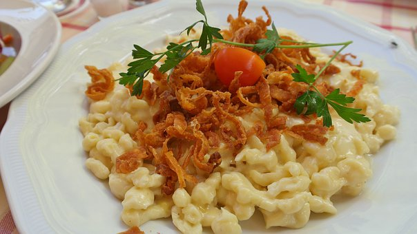 Cheese Noodles, Spätzle, Cheese, Tasty, Eat Food