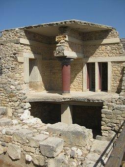 Knossos, Crete, Vacations, More, Excavation, Ruin