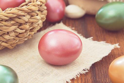 Egg, Easter Egg, Colored Egg, Hen's Egg, Color, Colored