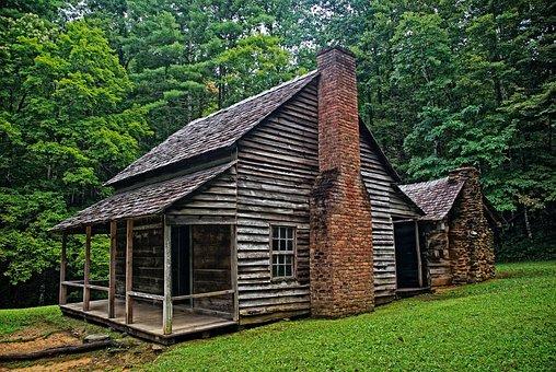 Cabin, Rustic, Historical, Barn, Buildings, Farm, Rural