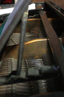 Piano, Music, Recreation, Instrument, String, Sound