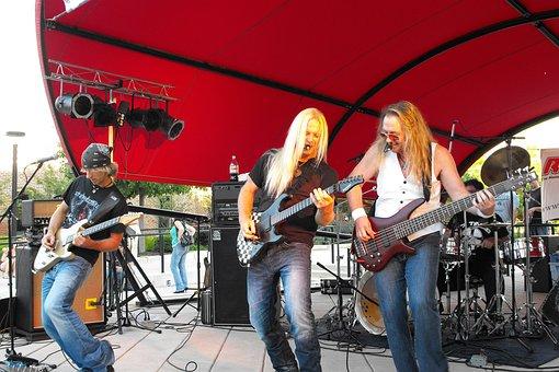 Live, Music, Guitars, Show, Players, Good, Time