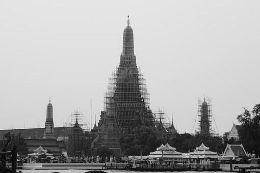 Pagoda, Thailand, Buddhism, Temple, Asia, Historically