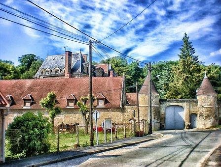 Chambronne-les-clermont, France, Village, Town