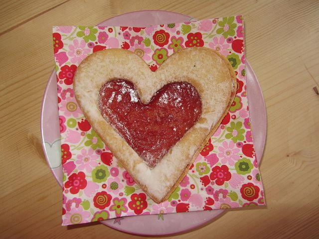 Heart Cookies, Biscuit, Heart, Heart Shaped