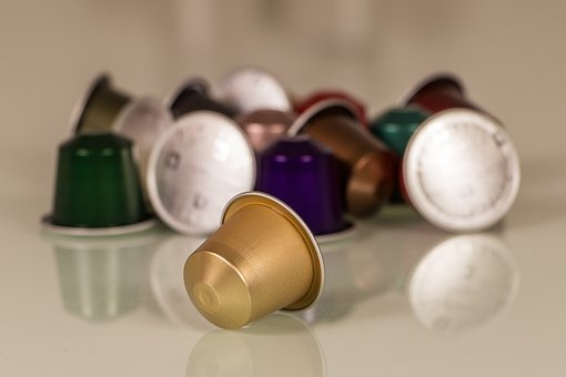 Coffee Capsule, Nespresso, Aluminium, Coffee