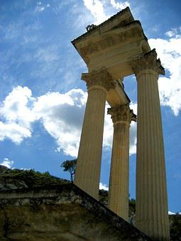 Glanum, Columns, Corinthian, Roman