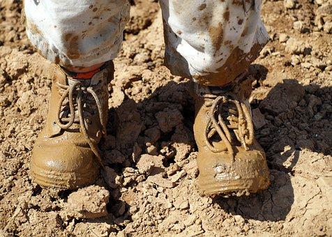 Mud, Footwear, Hiking