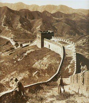 Great Wall Of China, Border, Long Great Wall Of China