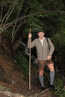 Leather Pants, Hunting, Pongau, Carnival, Old Fashioned