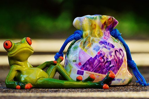 Money Soothes, Save, Reserves, Calming, Frog, Relaxed