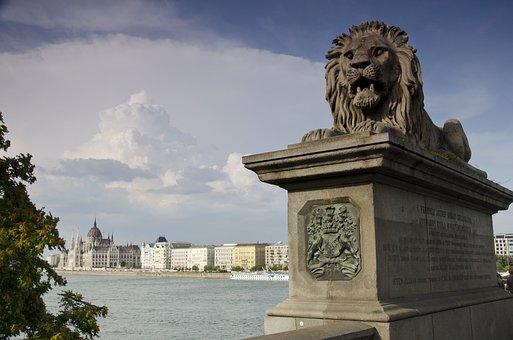 Bridge, Budapest, The Parliament, Danube, Hungary