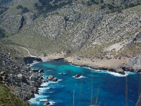 Cala Figuera, Booked, Cap Formentor, Mallorca, Water