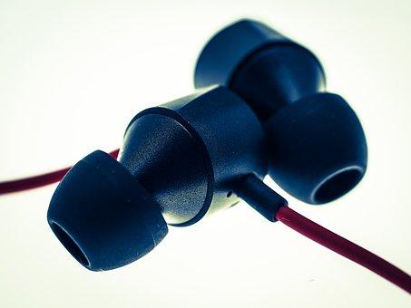 Earphones, In-ear Headphones, Music, Headphones, Audio