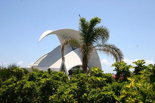 Concert Hall, Tenerife, Canary Islands, Building