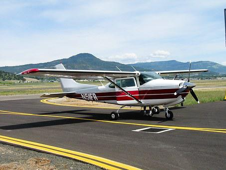 Plane, Cessna, 182, Turbo Rg, Airplane, Aircraft, Air