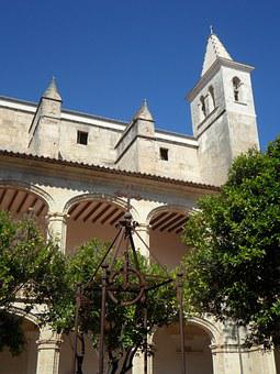 Church, Manacor, Tower, Steeple, Monastery