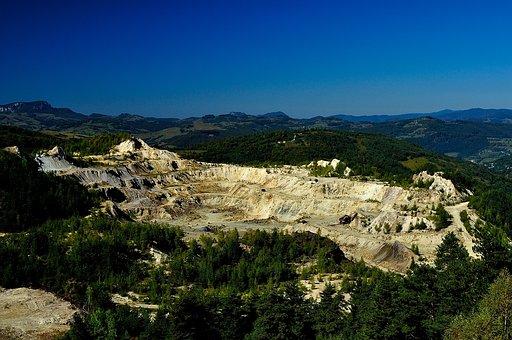 Gold Mine, Mine, Mining, Industry, Rock, Stone, Economy
