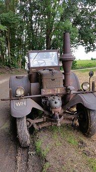 Tractors, Tractor, Historically, Vehicle, Bulldog, Lanz