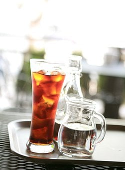 Iced Tea, Dutch Coffee, Ice Cubes, Beverage, Alcoholic