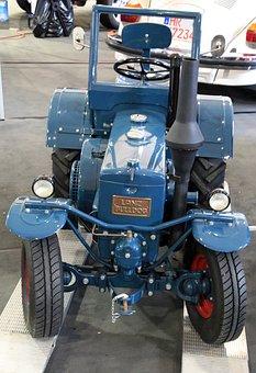 Oldtimer, Lanz, Tractor, Bulldog
