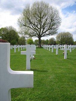 War, Cemetery, Margraten, Graveyard, Cross, Monument