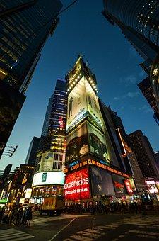 New York, New York City, Manhattan, New, Big Apple