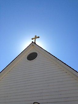 Old St Hilary's, Cross, Christian, Christianity, Church