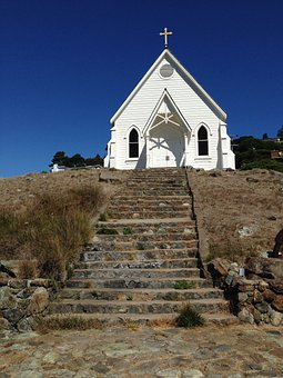 Old St Hilary's, Church, Old Steps, Historical