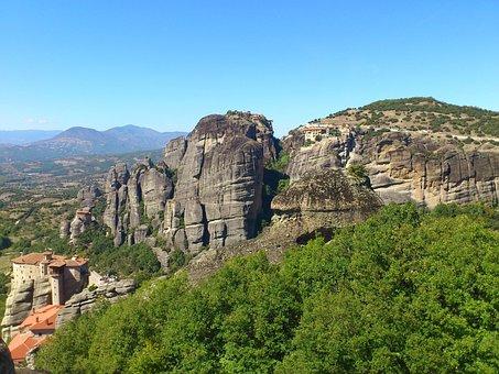 Monastery, Meteora, Greece, Olympus