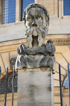 Oxford, England, Statue, Uk, Architecture, Oxfordshire