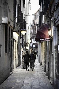 Venice, Alley, Road, Italy, Side Street, Venezia