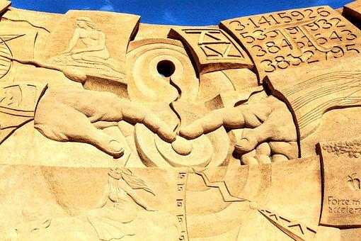 Sand, Sculpture, Sandworld, Sand Sculpture