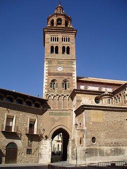 Cathedral, Church, Tower, Church Clock