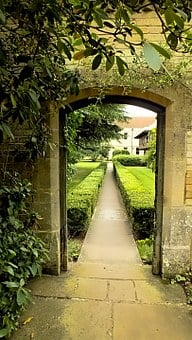 Archway, Holiday Garden, Europe, Tourism, Vacation