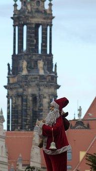 Dresden, Santa Claus, Advent, Ziipfelmuetze, White