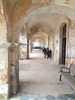 Arcade, Arches, Old San Juan, Puerto Rico