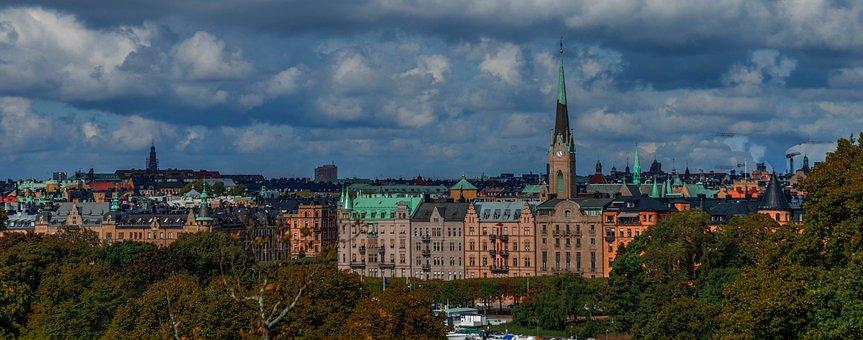 Stockholm, Sweden, Architecture, City, Europe, Landmark
