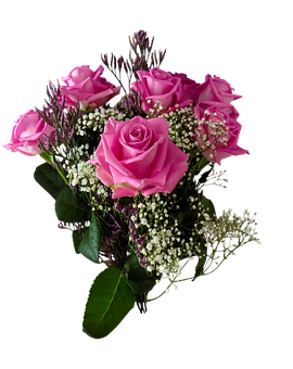 Birthday, Flowers, Valentine's Day, Bouquet, Roses, Png