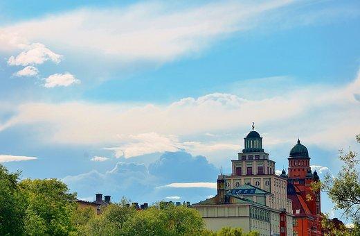 Sweden, Building, Monument, City, Architecture