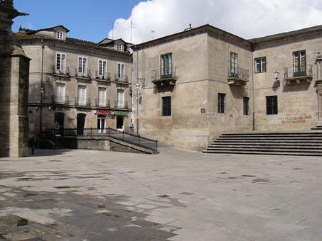 Center, City, Plaza De Santa María, Diocese Of Lugo